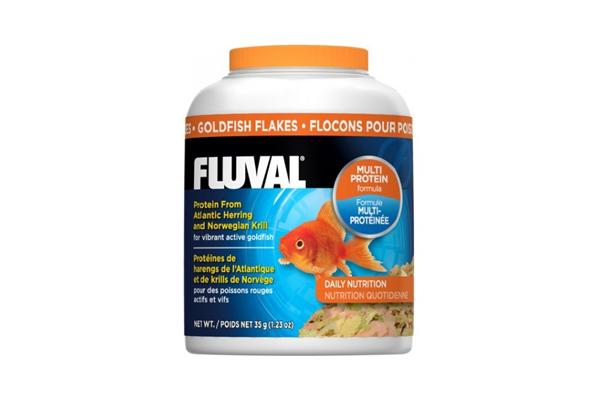 Escamas peces agua fr a fluval 35g dogrumi for Alimentacion para peces de agua fria