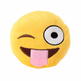 FuzzYard peluche Emoji Tongue Out