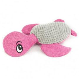 Natural peluche tortuga rosa