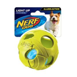 Nerf Pelota con LED (Verde)
