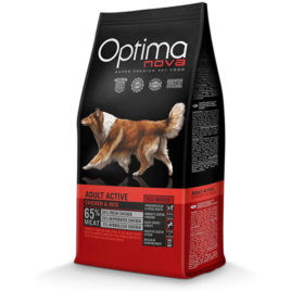 Optimanova Adult Active pollo arroz