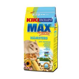 Kiki MAX menú hámsters