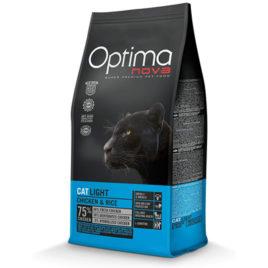 Optimanova Cat Light pollo arroz