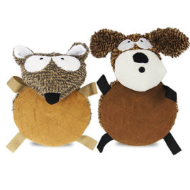 Animal barrigón de peluche