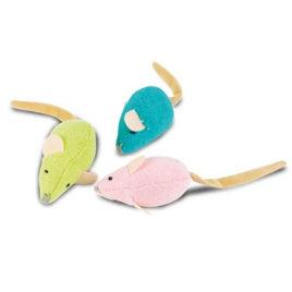 Set tres ratones con catnip