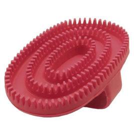 Cepillo de goma oval rojo Ibáñez